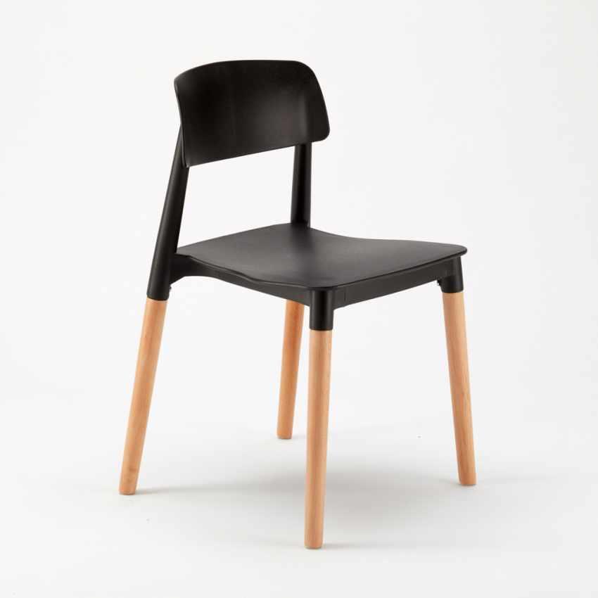 Sedie per Cucina e Bar Polipropilene e Legno Design Belloch Barcellona - photo