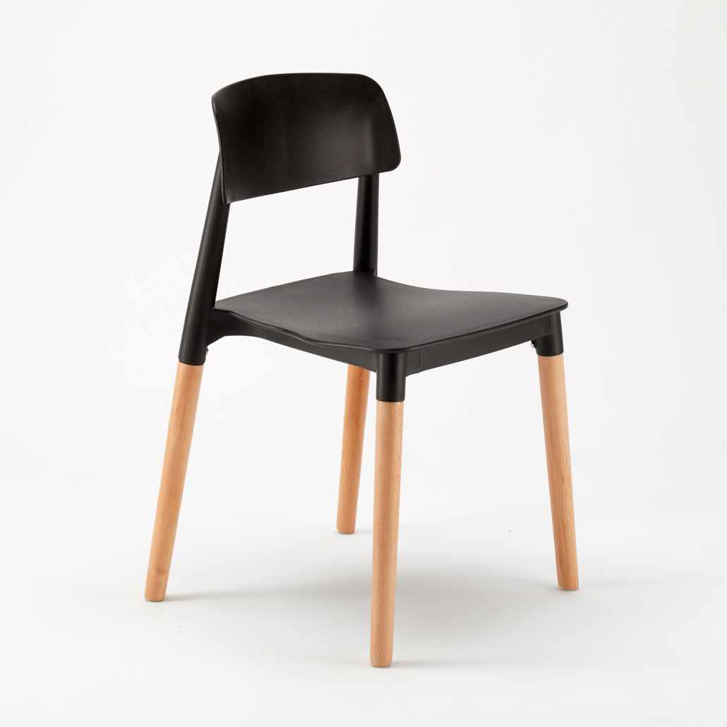 Sedie per Cucina e Bar Polipropilene e Legno Design Belloch ...