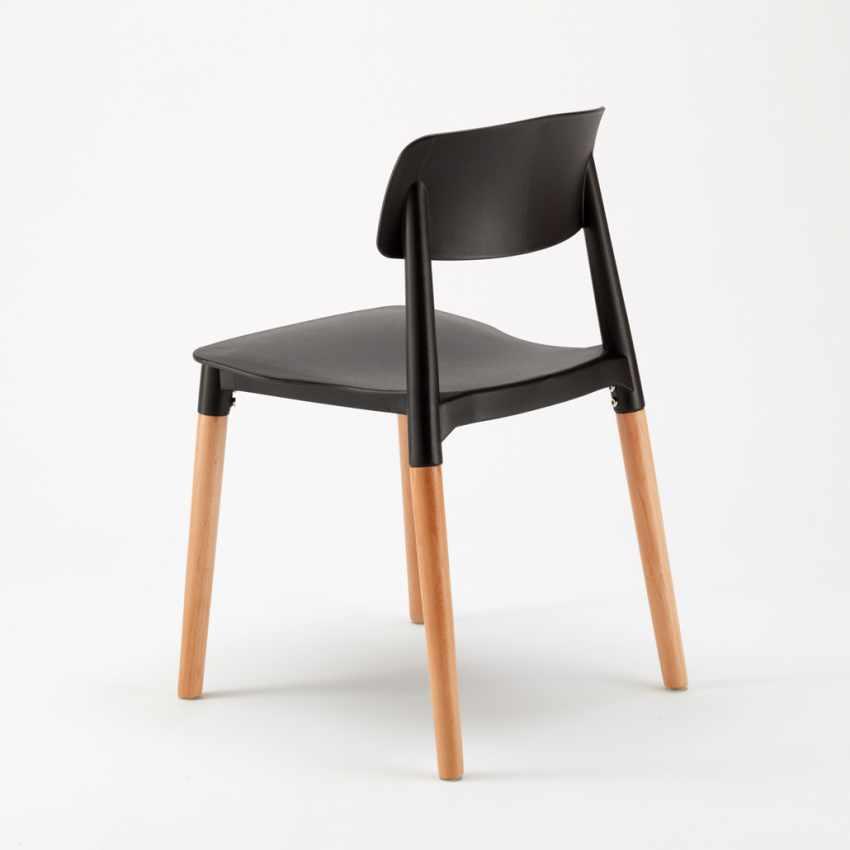 Sedie per Cucina e Bar Polipropilene e Legno Design Belloch Barcellona - new