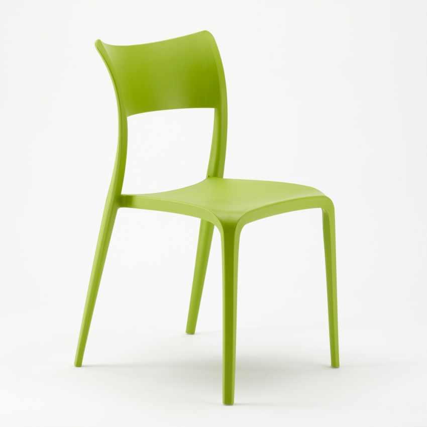 Sedie in Polipropilene per Cucina Bar Ristorante e Giardino PARISIENNE - offert