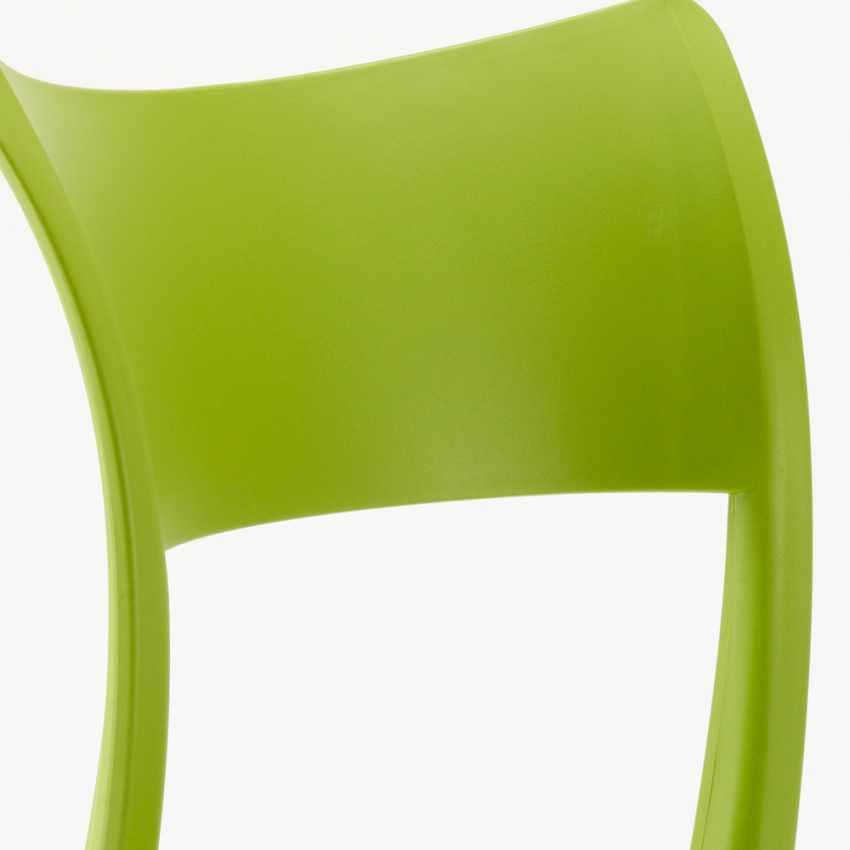 Sedie in Polipropilene per Cucina Bar Ristorante e Giardino PARISIENNE - discount