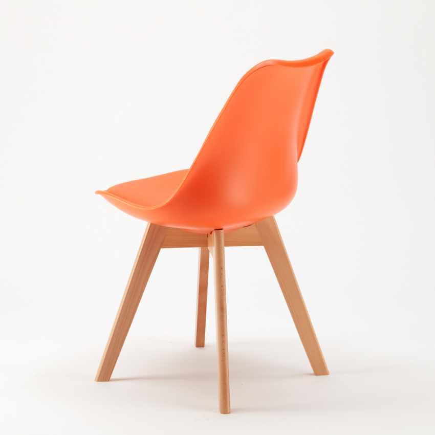 Sedie con Cuscino Design Scandinavo NORDICA per Bar e Cucina - dettaglio