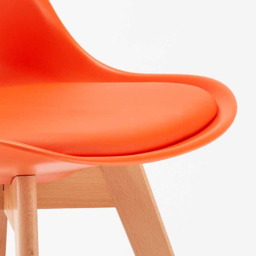 Sedie con Cuscino Design Scandinavo NORDICA per Bar e Cucina - migliore
