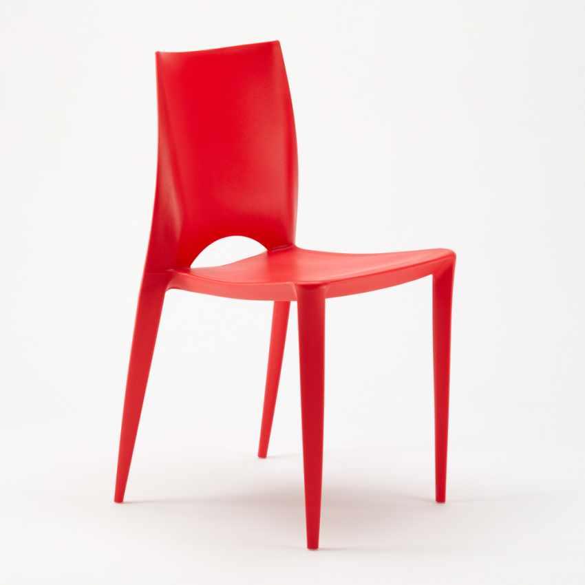 Sedia Colorata Design Moderno Cucina Bar Ristorante Giardino COLOR - discount