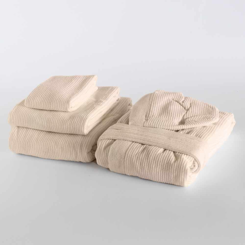 set asciugamani accapatoio SPA in casa DONDI SKIPPER