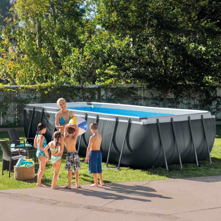piscine hors sol intex ultra frame 26356 ex 26352. Black Bedroom Furniture Sets. Home Design Ideas