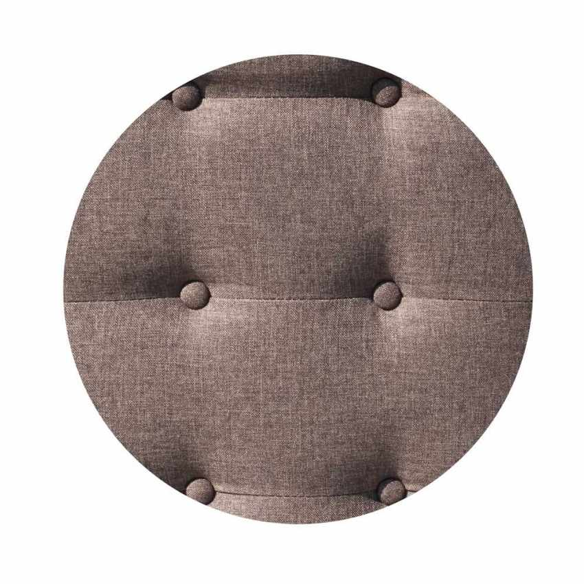 Divano letto reclinabile 3 posti in tessuto rialzato ELIODORO - sales