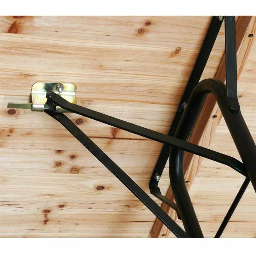 2 Gambe sostitutive per tavolo richiudibile ricambio set birreria - indoor