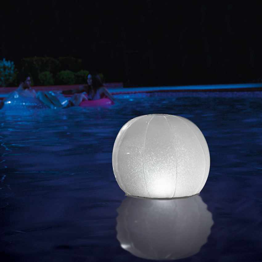 Luce Galleggiante a LED Sfera Luminosa per Piscina Intex 28693 - dettaglio