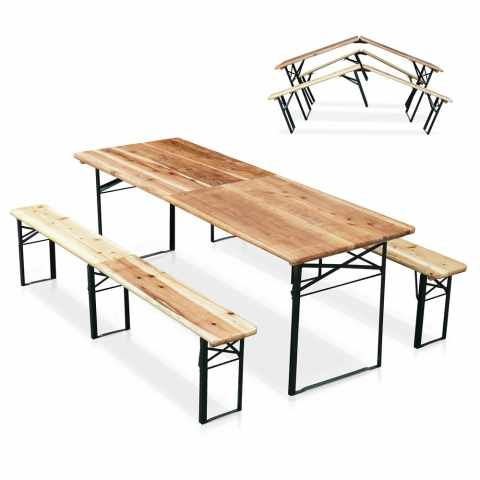 Tavoli E Panche Da Birreria Usati.Panche Da Birreria Usate
