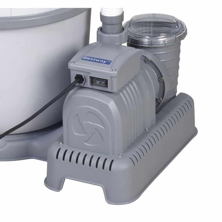 Pompa Filtro a sabbia Bestway 58404 per Piscina Flowclear - promo
