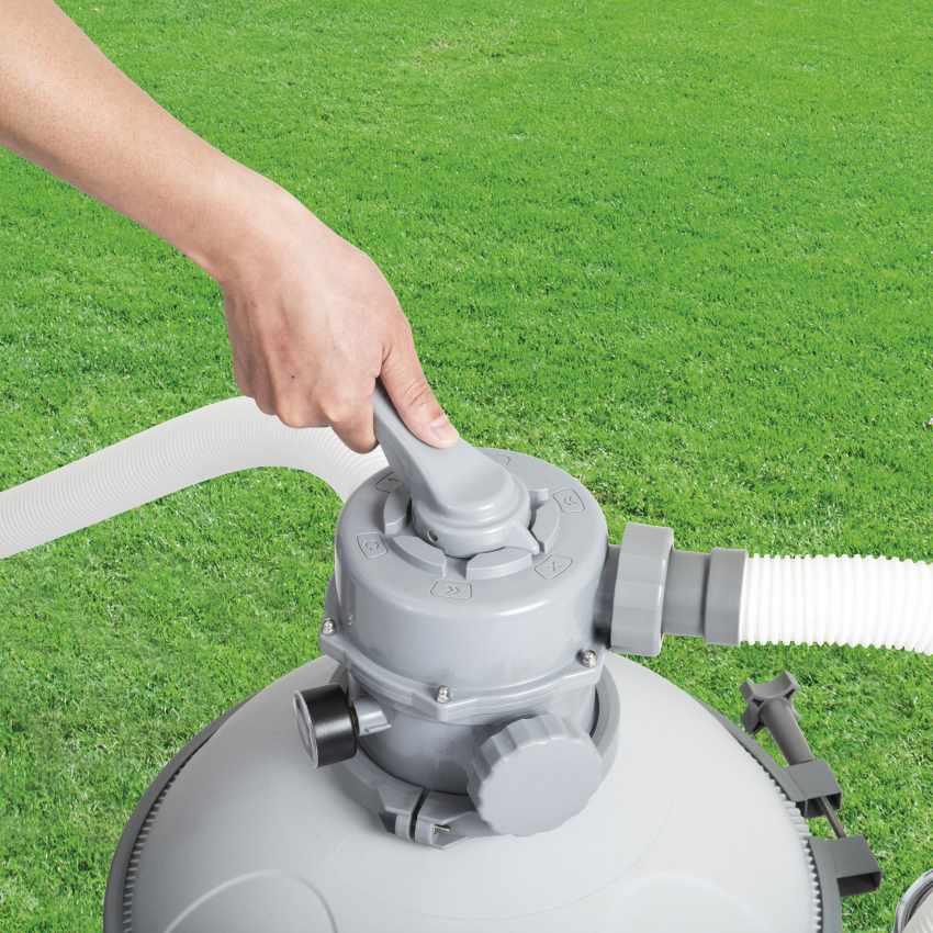 Pompa Filtro a sabbia Bestway 58404 per Piscina Flowclear - indoor