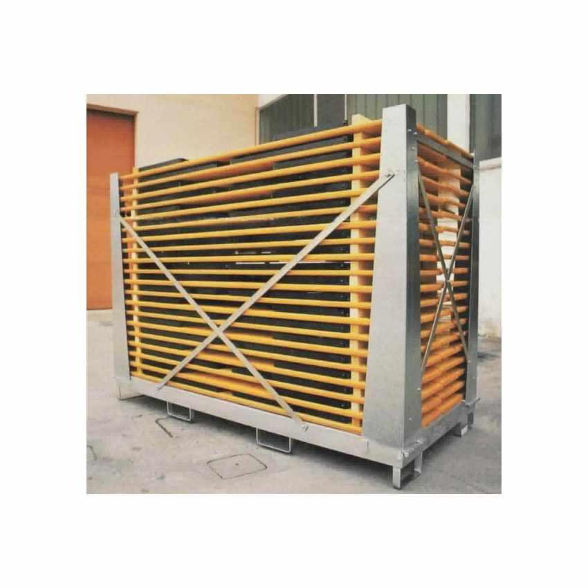 Boite de Stockage et chariots élévateur Boîte Cage Galvanisée Pour tables bancs CAGEBOX - outdoor