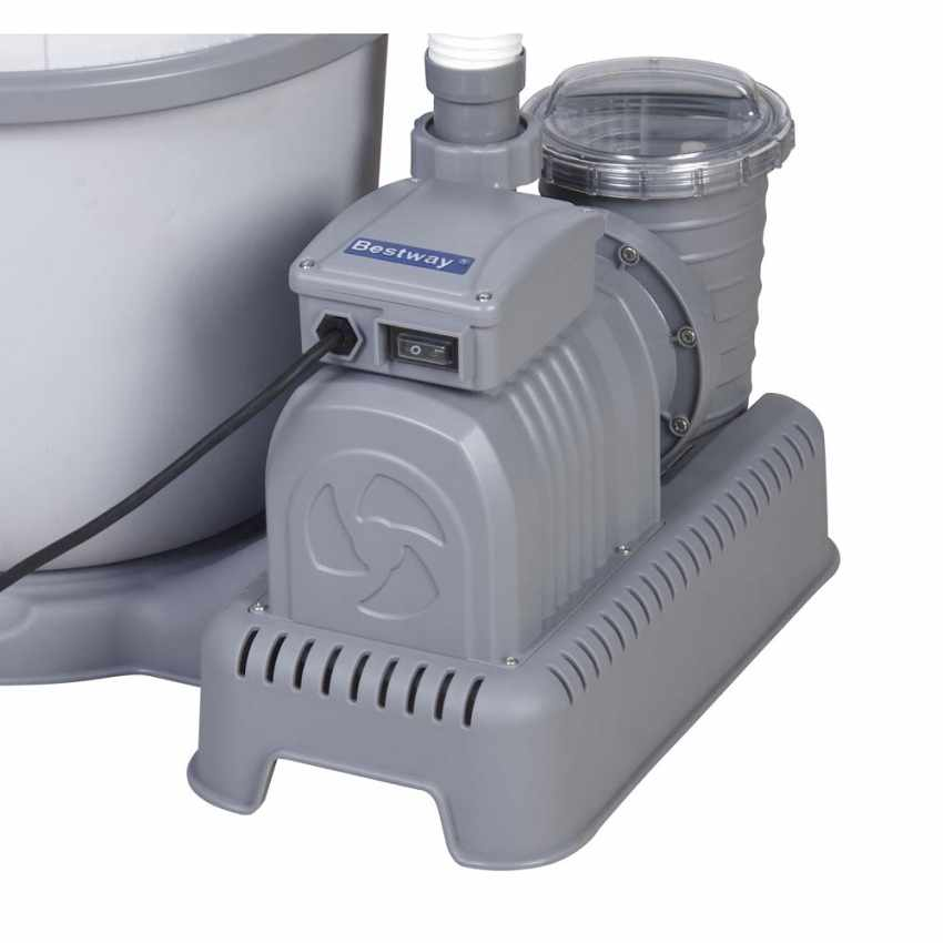 Bestway 58400 Pompa Filtro a Sabbia per Piscine Fuori Terra Bestway Intex - arredamento