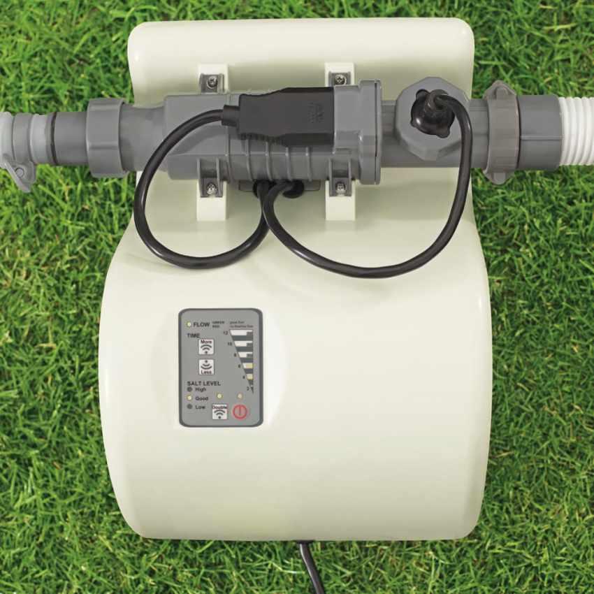 Générateur de Chlore Bestway 58216 avec Centrale Pompe Filtrante - sales