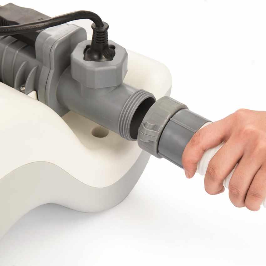 Generatore cloro clorinatore Bestway 58216 con centralina pompa filtro - image