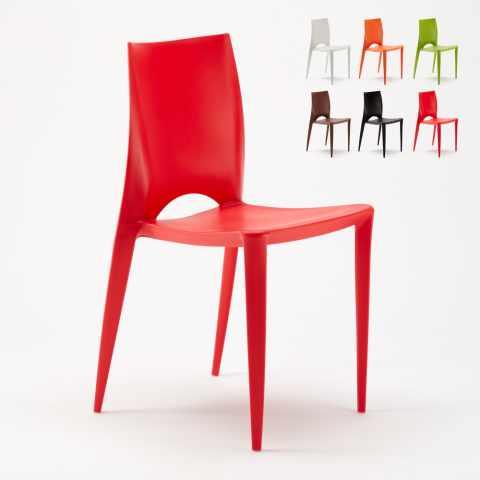 Sedie In Plastica Usate.Stock Sedie Da Interno Per Bar Ristoranti Ed Hotel Modelli E Prezzi