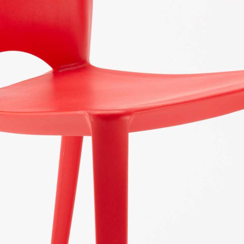 20er Stock Set Bunt Esstischstühle Esszimmerstühle Bistrostühle Bars Modern Außen Color
