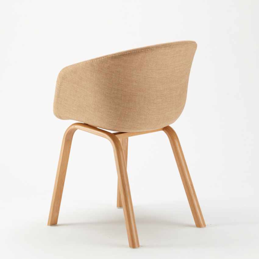 Stock 20 Sedie In Metallo Legno Tessuto Per Ristoranti Bar Design  Scandinavo KOMODA