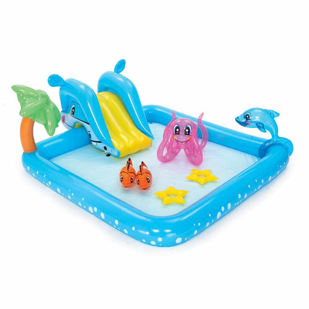 53052 - Piscina Gonfiabile per Bambini Bestway 53052 Acquario gioco Play Center -