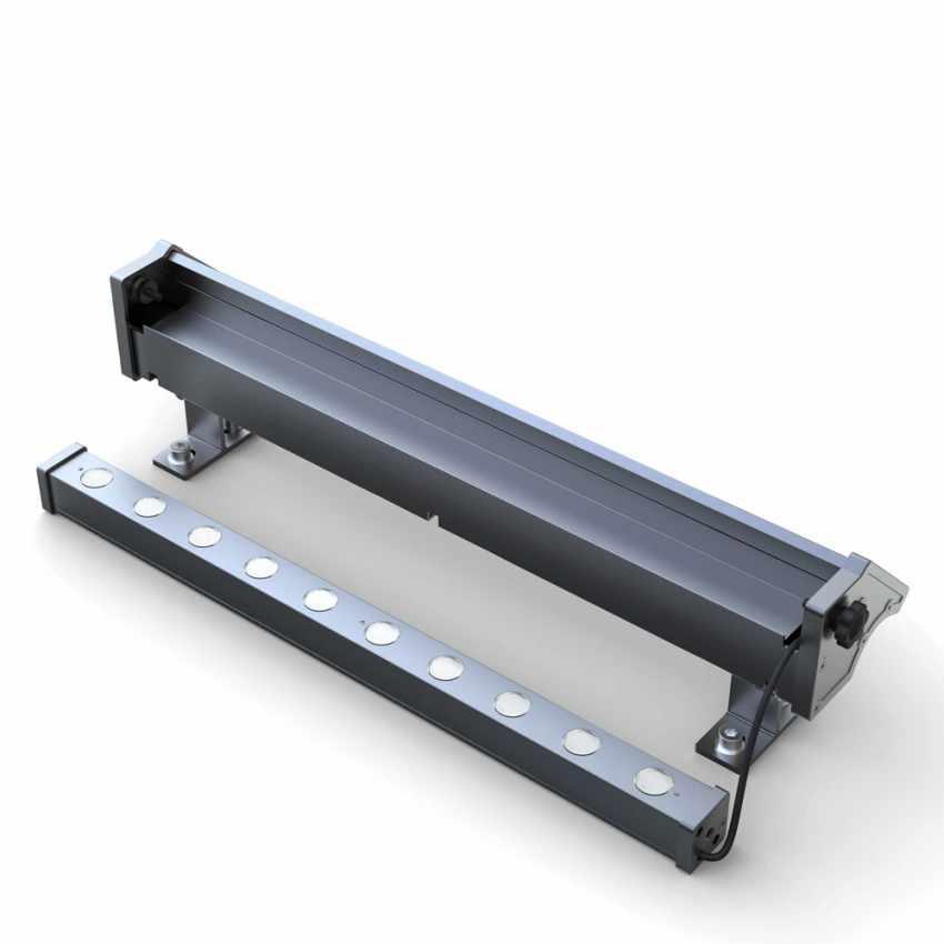 LED Solarlampe Solarleuchte für Beleuchtung von Werbetafeln und Plakate BILLBOARD - outdoor