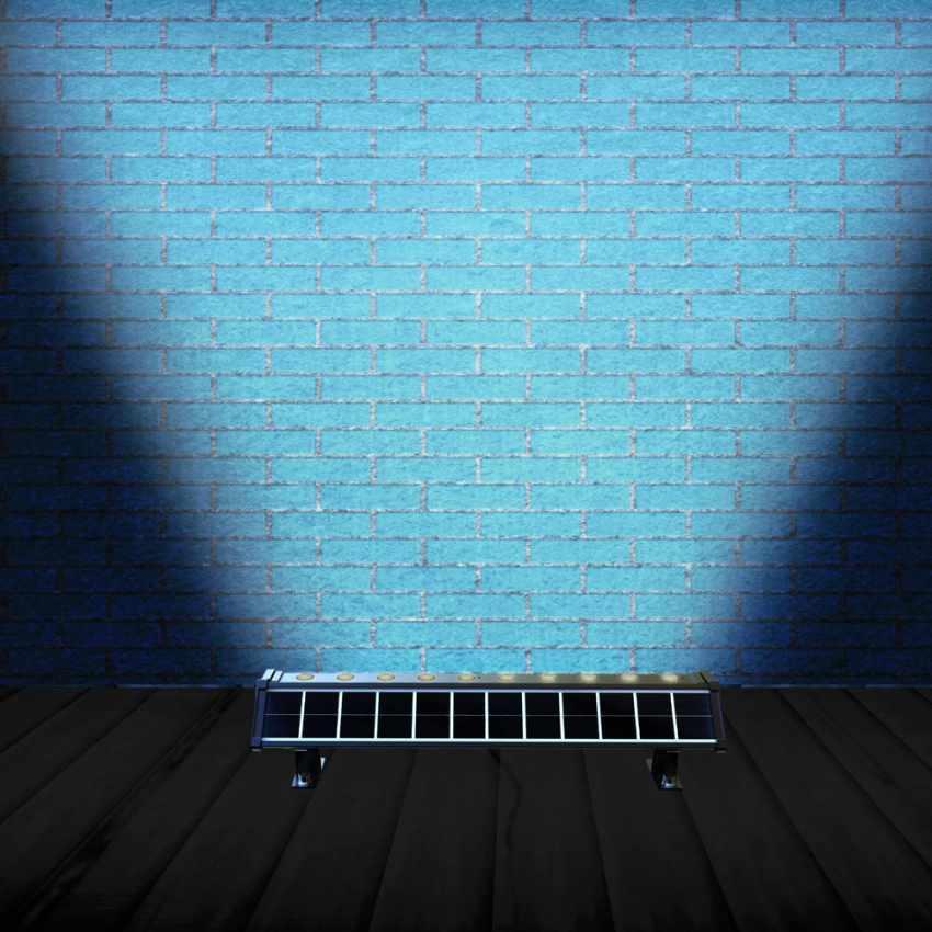 Lampada Solare a luci Led illuminazione per cartelloni pubblicitari e parete BILLBOARD - image