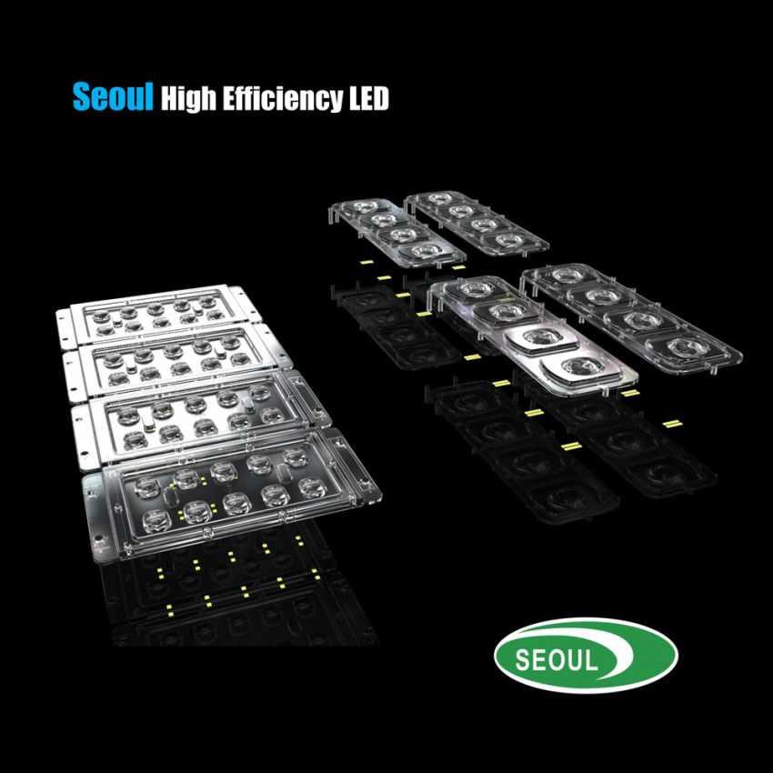 Lampione LED a Energia Solare 5000 Lumen Pannello Fotovoltaico Integrato per Giardino Parcheggio Strada GOLDRAKE - new