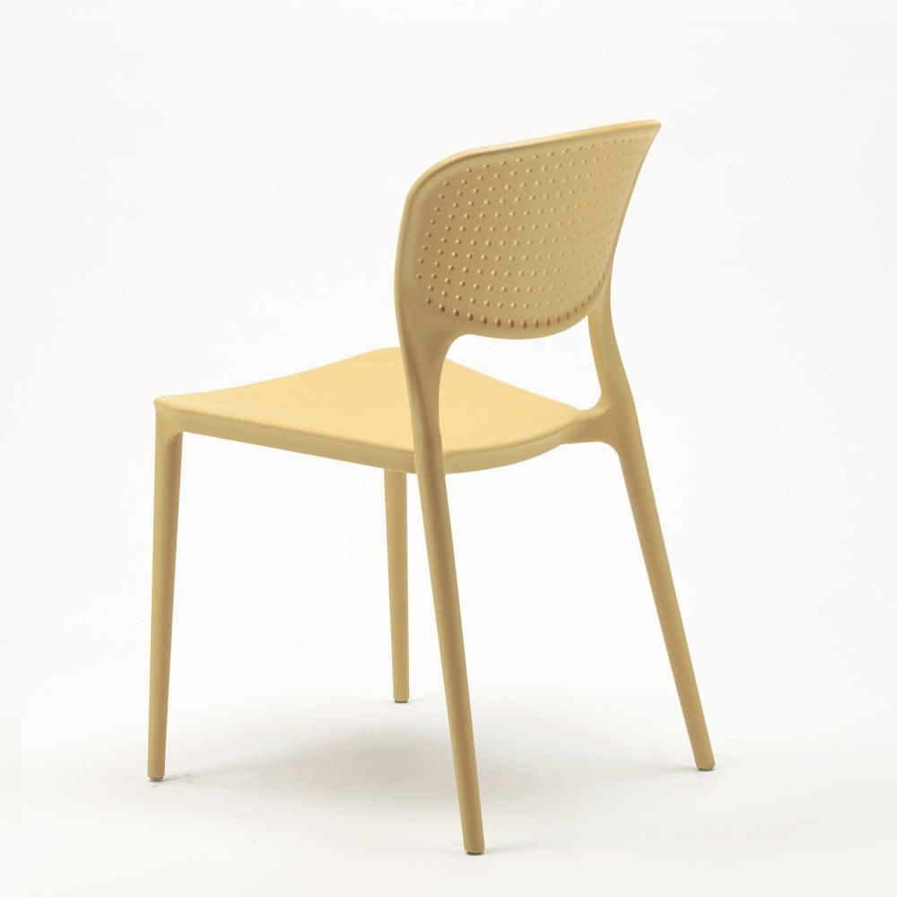 Sedie In Polipropilene Colorate.Dettagli Su Stock 20 Sedie Polipropilene Colorate Impilabile Garden Giulietta Bar Ristorante