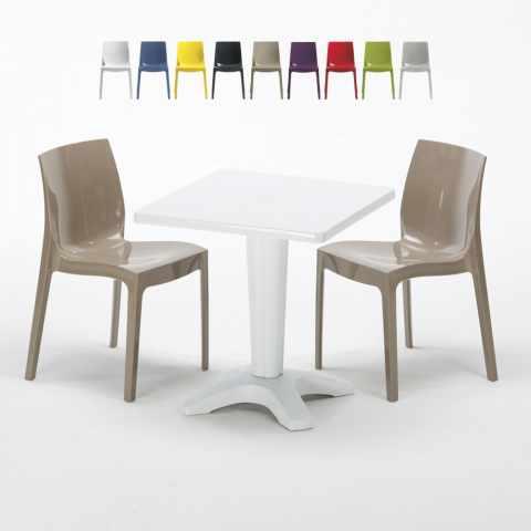 Sedie e Tavoli Polyrattan per Giardino Esterni e Bar: Modelli e Prezzi