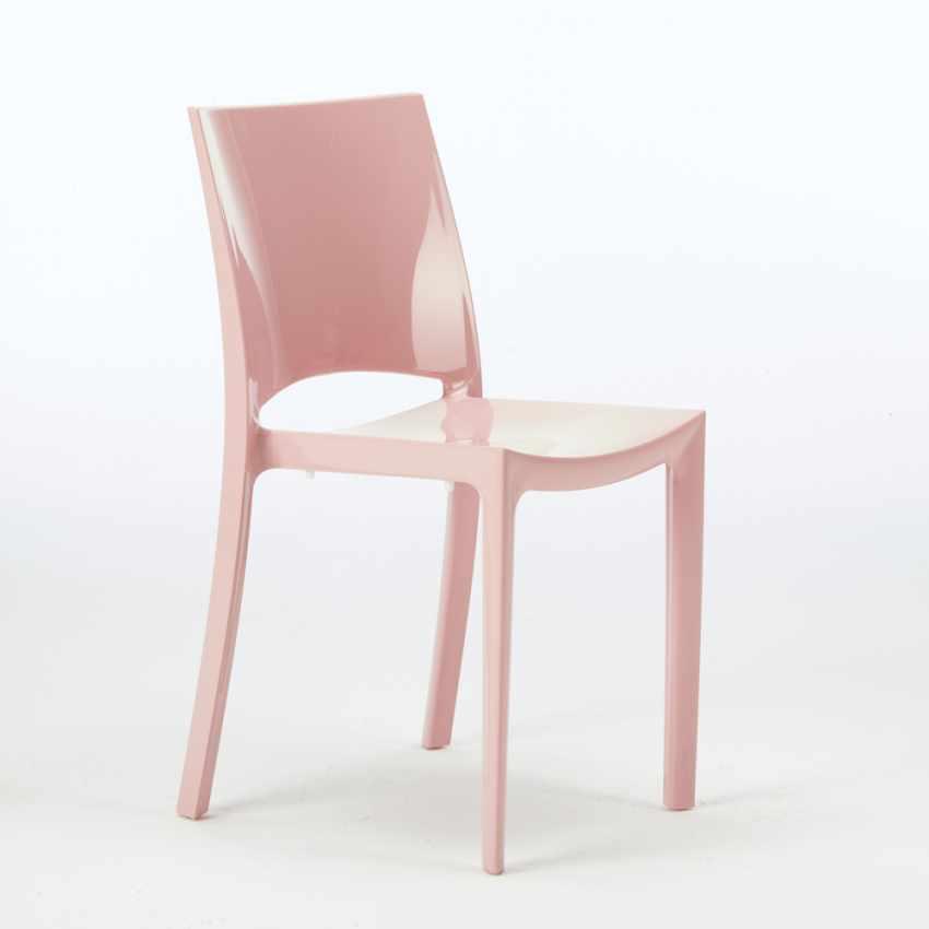 Sedie per cucina e bar lucida Grand Soleil SUNSHINE Design Moderno ...