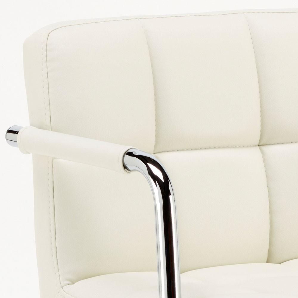 miniatura 29 - Taburete de bar cocina alto giratorio ajustable con respaldo y reposabrazos Las