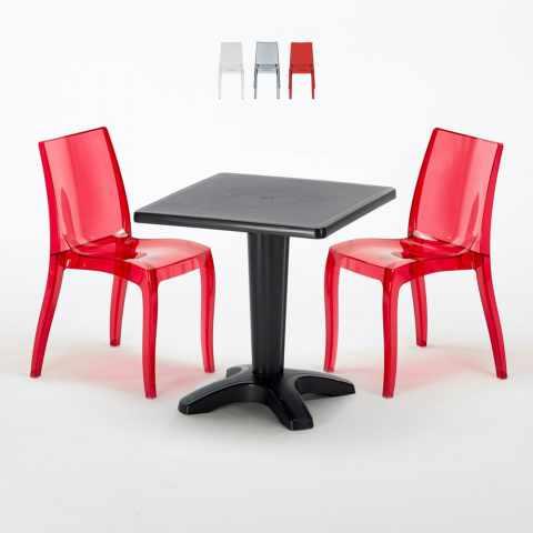 Sedie E Tavoli Per Esterno Prezzi.Sedie E Tavoli Polyrattan Per Giardino Esterni E Bar Modelli E Prezzi