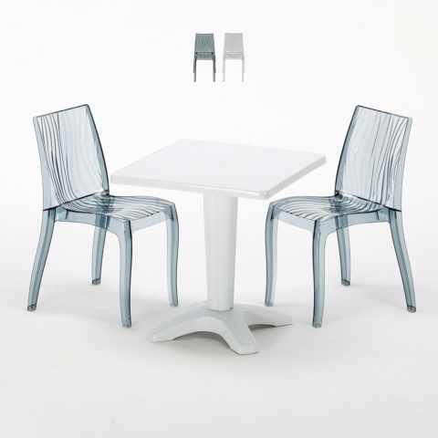Tavolo Bianco E Sedie Marroni.Sedie E Tavoli Polyrattan Per Giardino Esterni E Bar Modelli E Prezzi