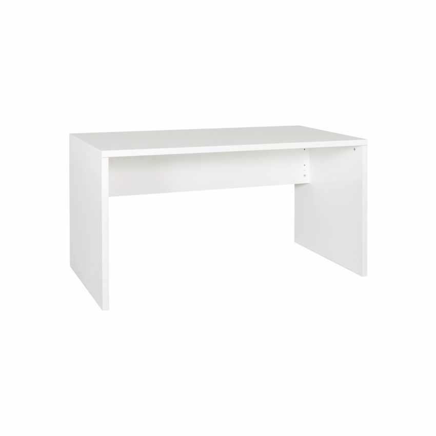 Scrivania design moderno colore bianco lucido per ufficio e studio COLIBRI - dettaglio