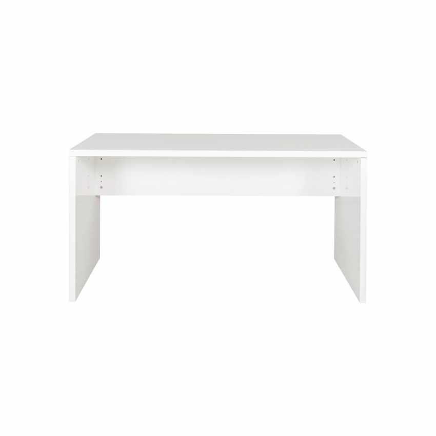 Scrivania design moderno colore bianco lucido per ufficio e studio COLIBRI - migliore