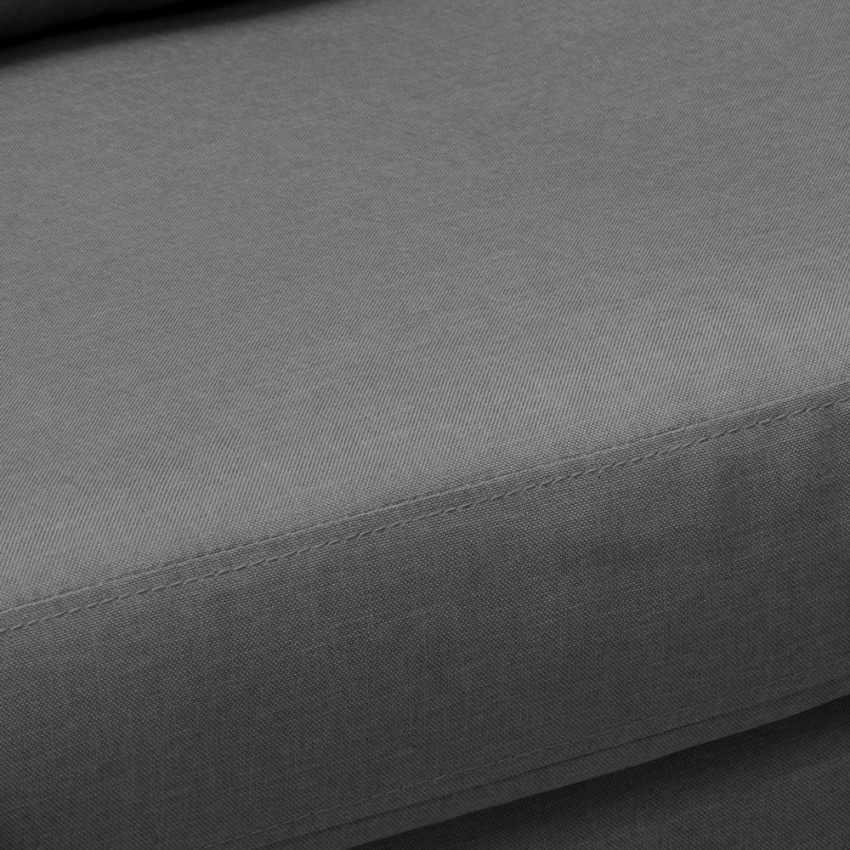 Canapé Design Moderne Style Scandinave en Tissu 3 Places pour salon et salle à manger ACQUAMARINA - details