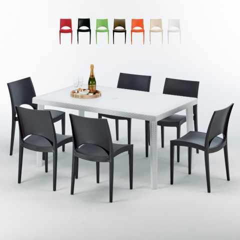 Sedie E Tavoli Bar Per Esterno.Sedie E Tavoli Polyrattan Per Giardino Esterni E Bar Modelli E Prezzi
