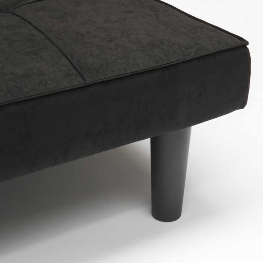 Canapé Convertible Design Minimaliste en tissu 2 Places pour maison et bureau GIADA - arredamento
