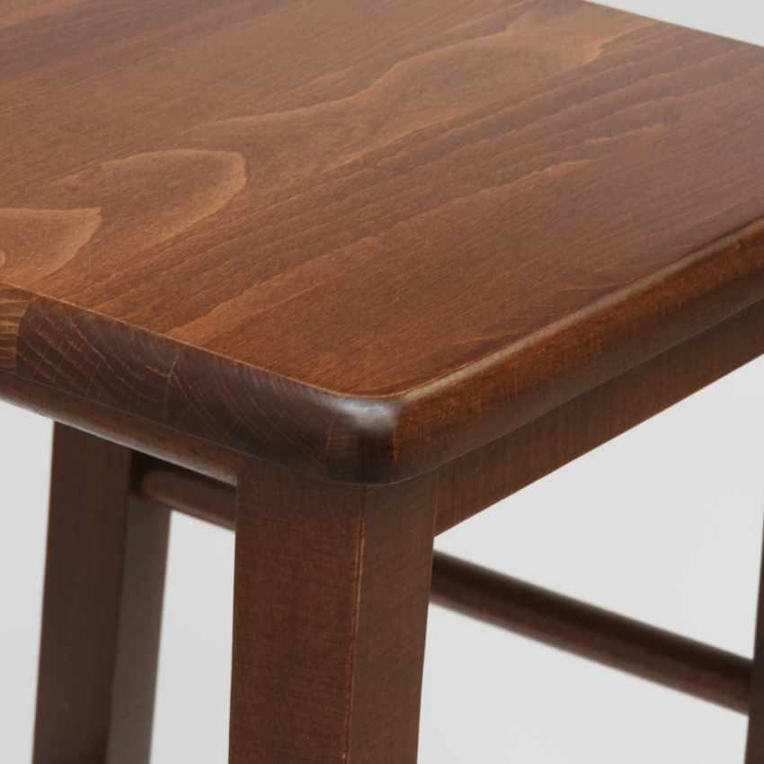 Barhocker Holz Hoch Bar Küche Design DORTMUND