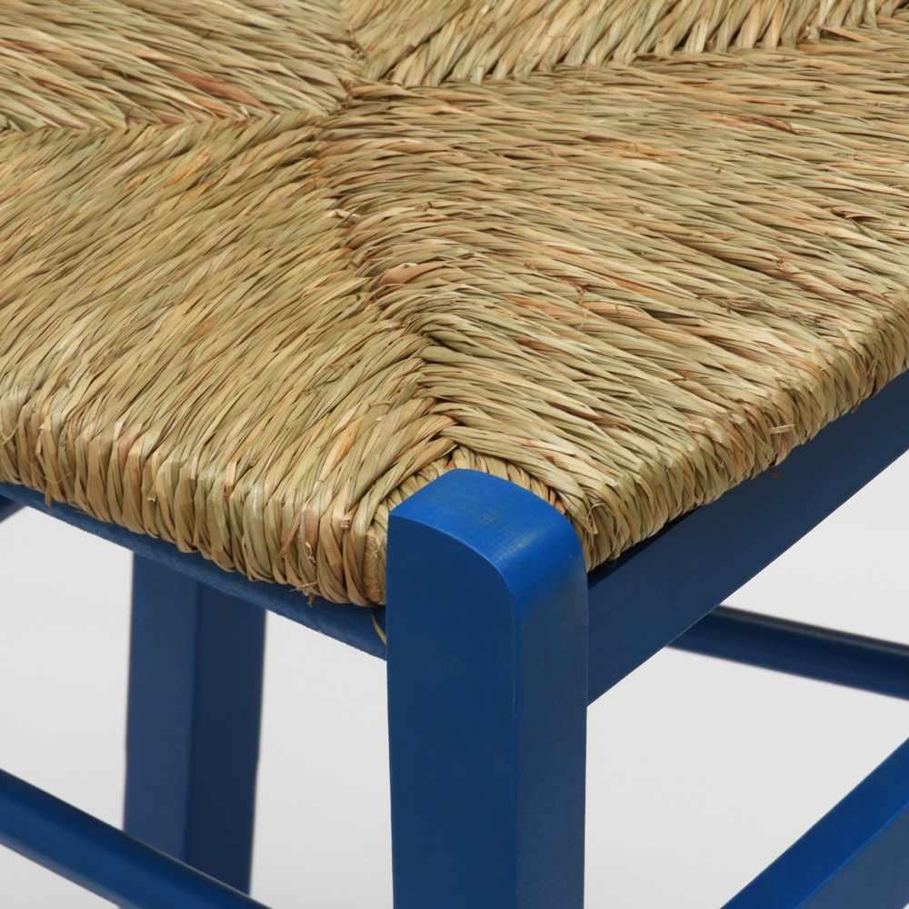 Sedia-in-legno-e-seduta-impagliata-per-cucina-bar-e-trattoria-rustica-PAESANA miniatura 32