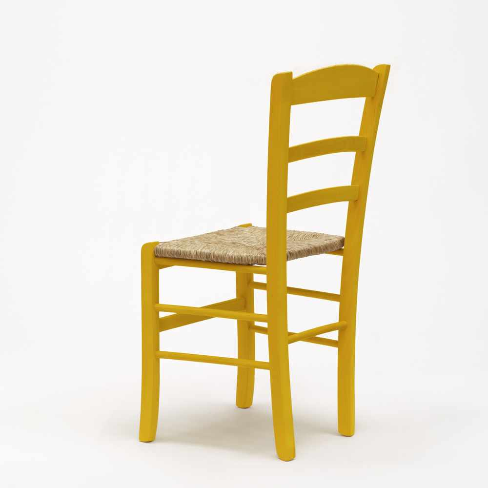 Sedia-in-legno-e-seduta-impagliata-per-cucina-bar-e-trattoria-rustica-PAESANA miniatura 36