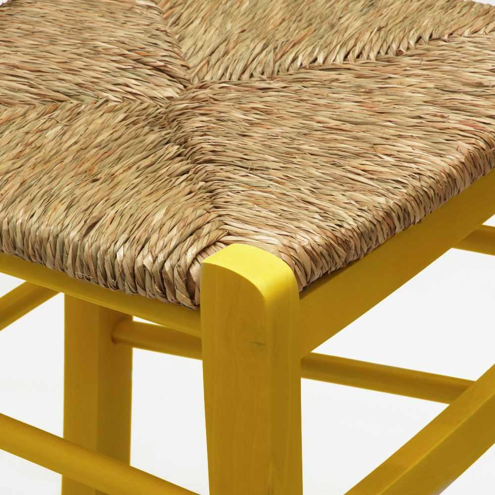 Sedia-in-legno-e-seduta-impagliata-per-cucina-bar-e-trattoria-rustica-PAESANA miniatura 37