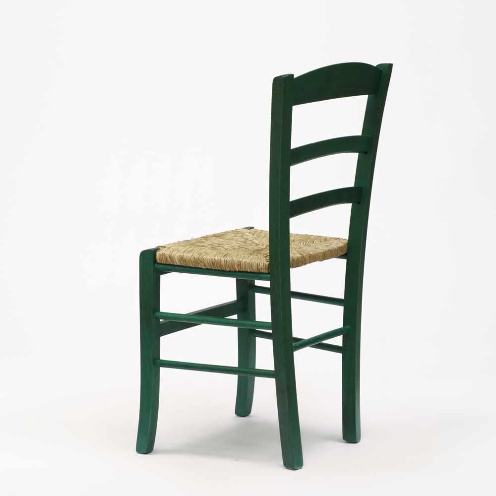 Sedia-in-legno-e-seduta-impagliata-per-cucina-bar-e-trattoria-rustica-PAESANA miniatura 41