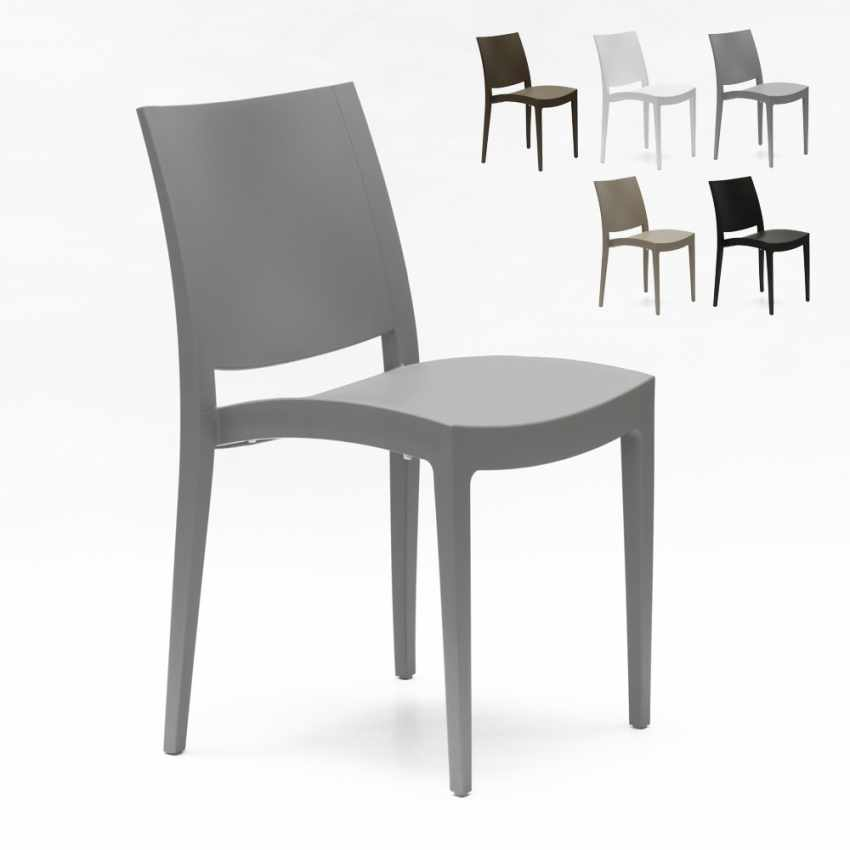 Chaise En Polypropylene Pour Salle A Manger Bar Et Restaurant Grand Soleil Trieste