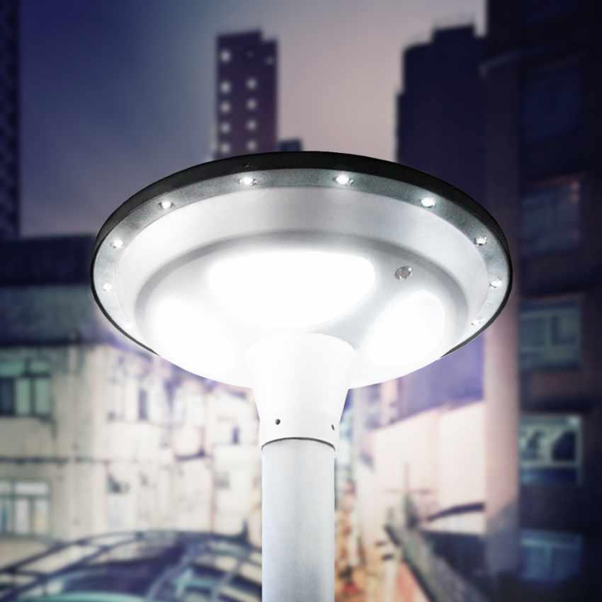 LED Solar-Straßenlaterne Photovoltaik Garten Park SQUARE - new