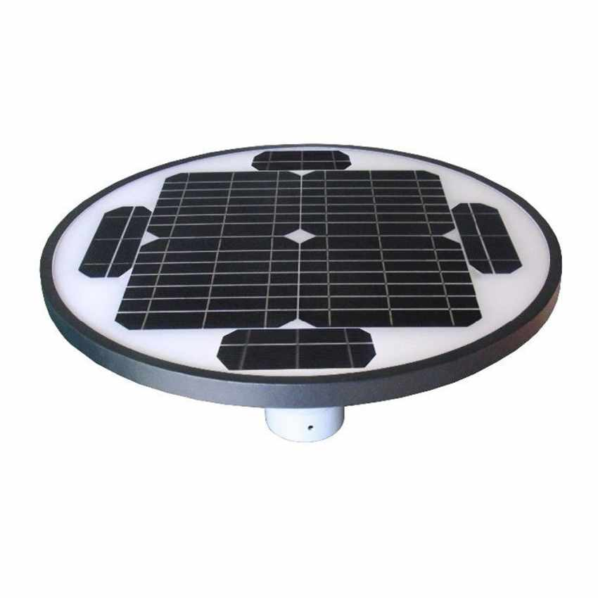 Lampione Led Solare fotovoltaico giardino parco SQUARE - forniture