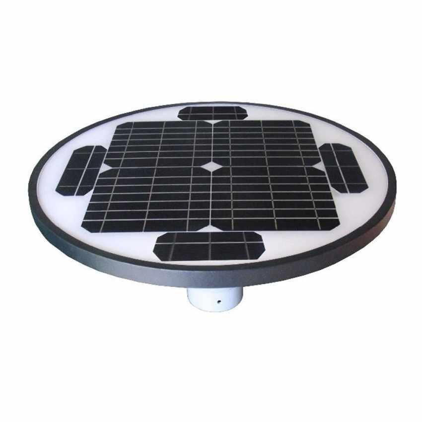 LED Solar-Straßenlaterne Photovoltaik Garten Park SQUARE - indoor