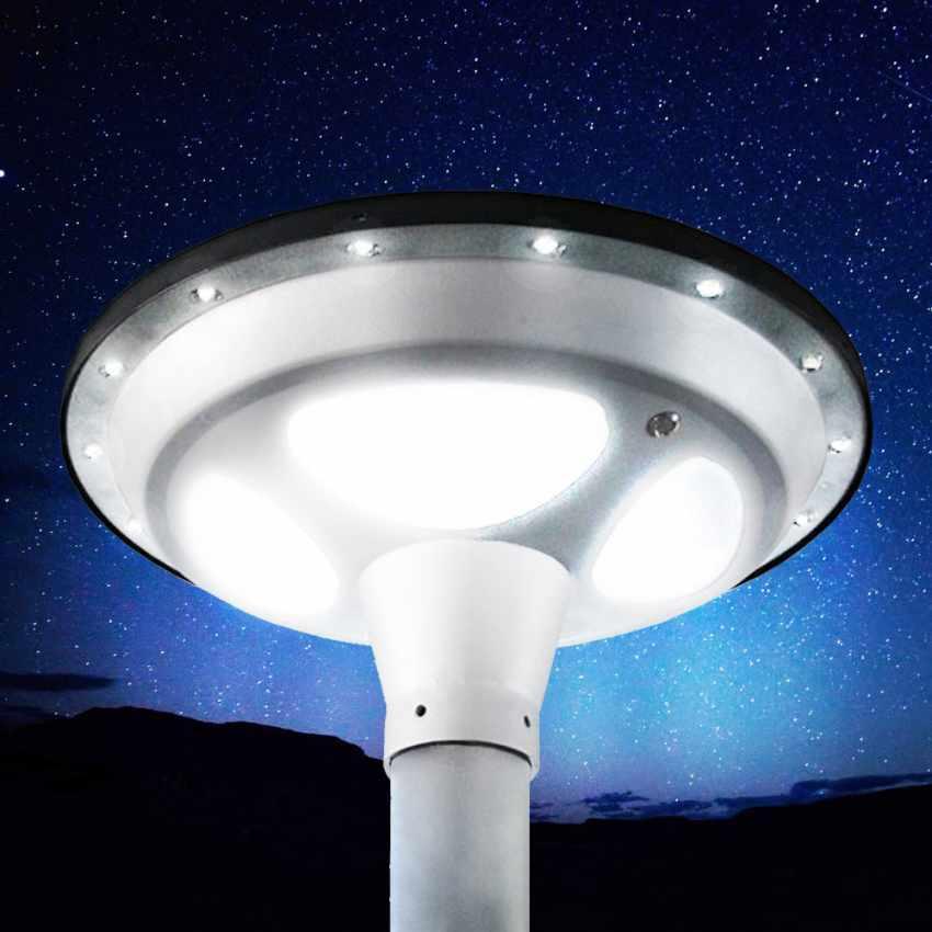 LED Solar-Straßenlaterne Photovoltaik Garten Park SQUARE - details