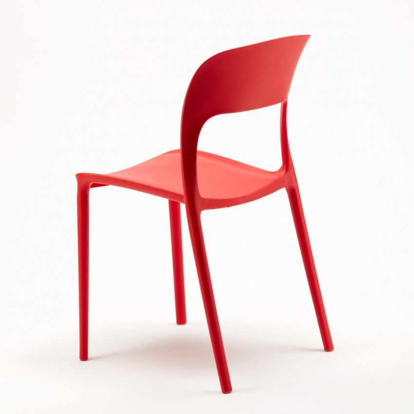 2 Intérieur MOJITO Avec Chaises Colorées Noire Bar RESTAURANT Set Table Café Carrée 70x70cm 0Ow8nXPk