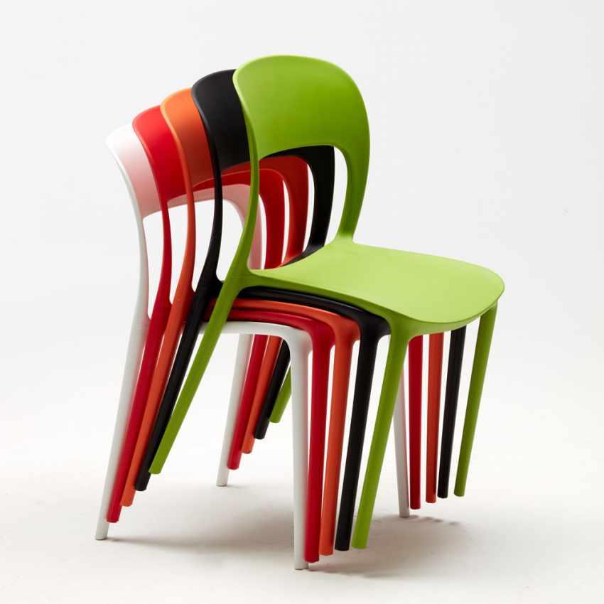 Table Avec Colorées Chaises RESTAURANT Intérieur Carrée MOJITO 2 Set Noire Bar Café 70x70cm OXZTPkiu